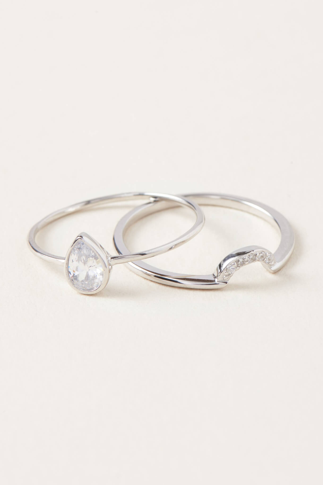 fashion jewelry silver wedding ring