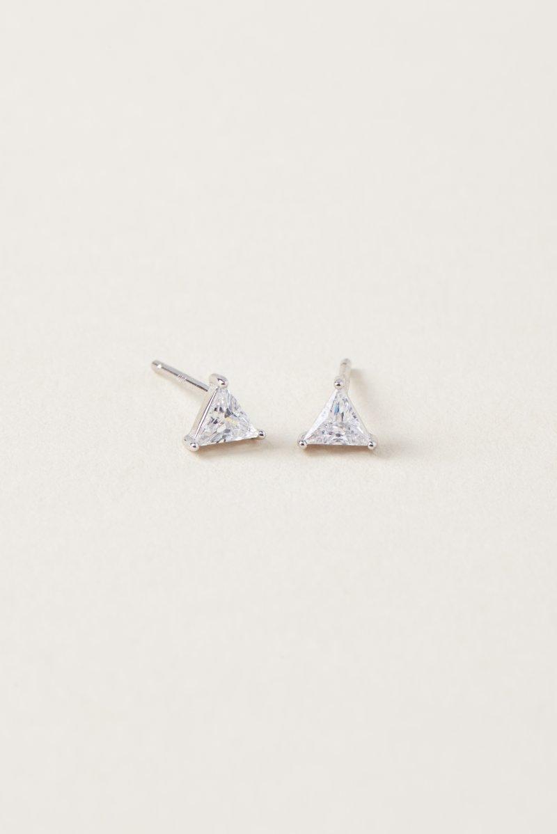Boucles d'oreille en triangle